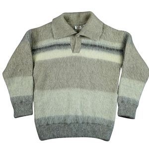 Icewool Wool Knitted Tricot Sweater Womens Lt